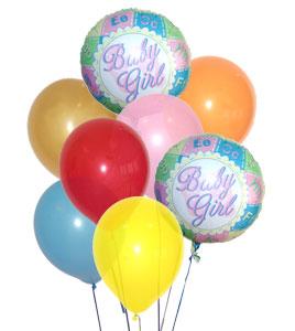 Baby Girl Balloon Bouquet